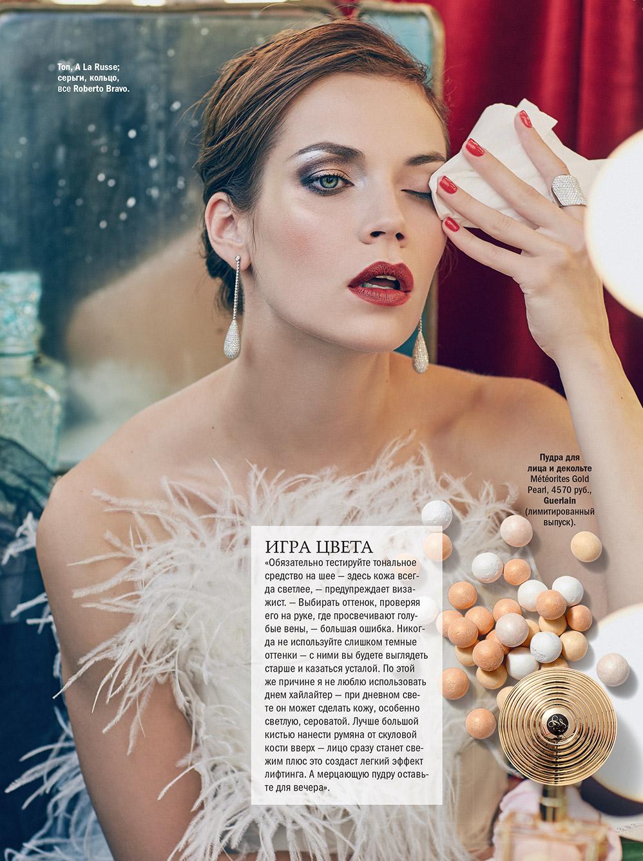 Топ A LA RUSSE в съемке для журнала Glamour